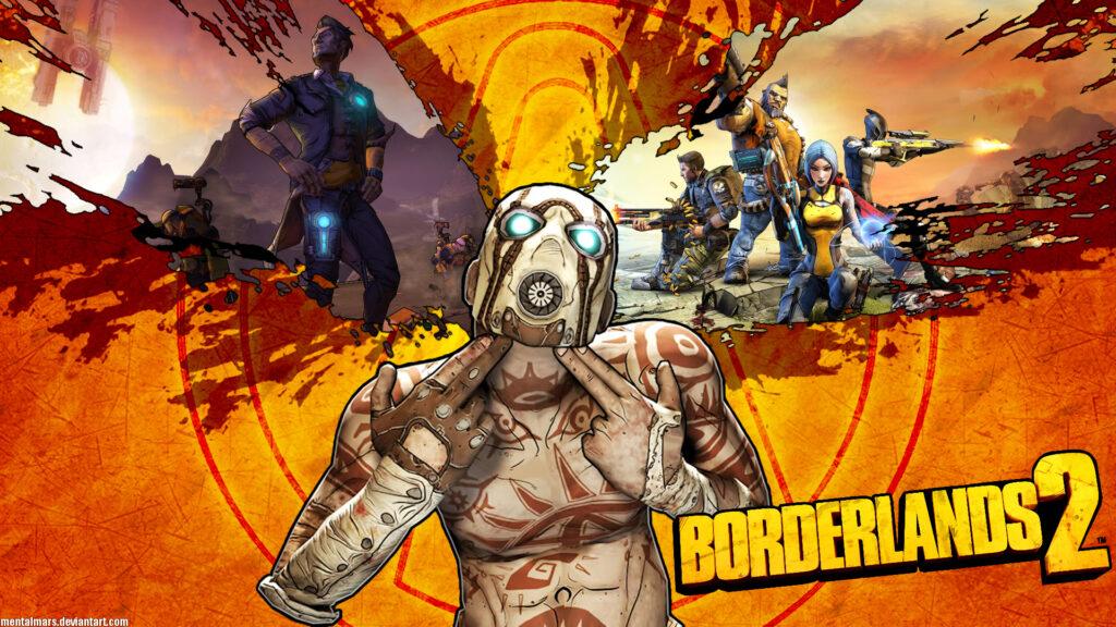 Borderlands 2 Logo Wallpaper
