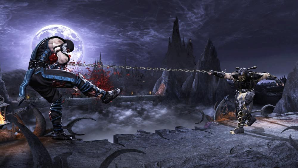 Mortal Kombat 9 Screenshot get over here