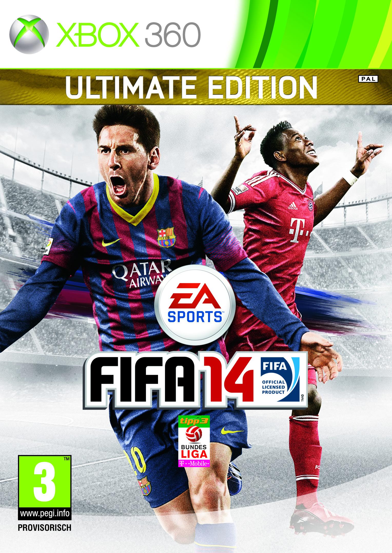 FIFA 14 Alaba Cover Xbox 360