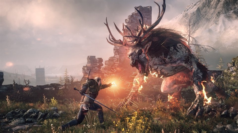 Witcher 3 Wild Hunt Screen