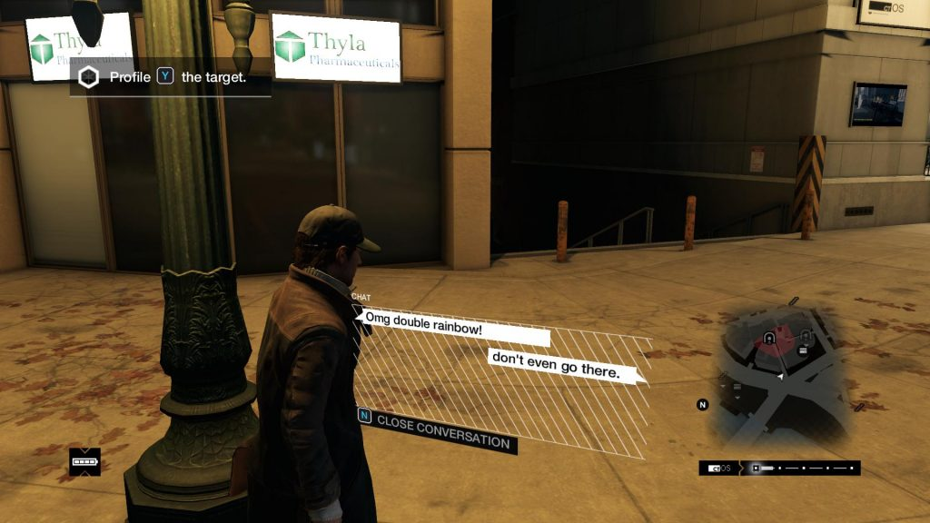 Watch Dogs Double Rainbow CK