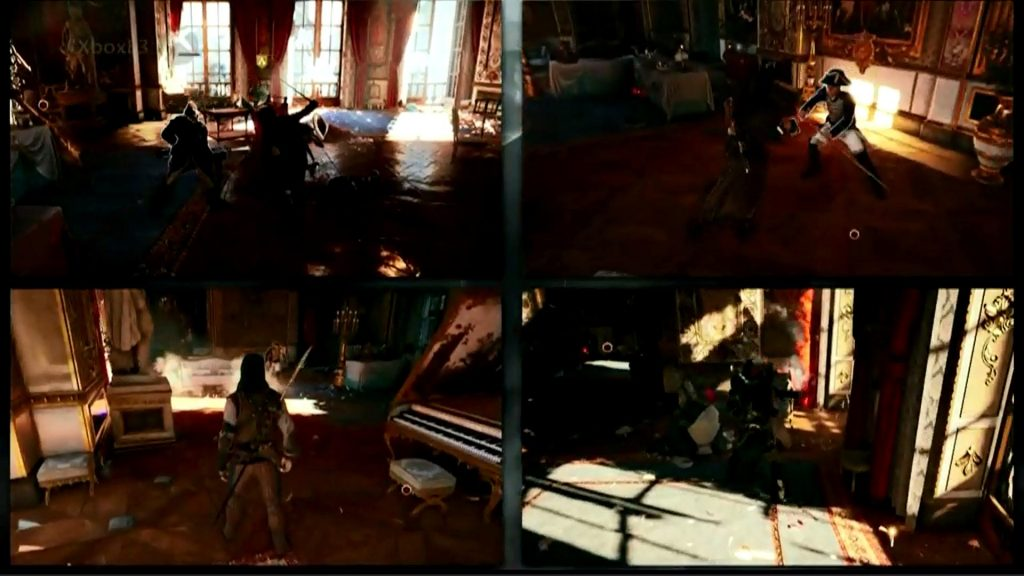 Assassin's Creed Unity 4 player co-op ck