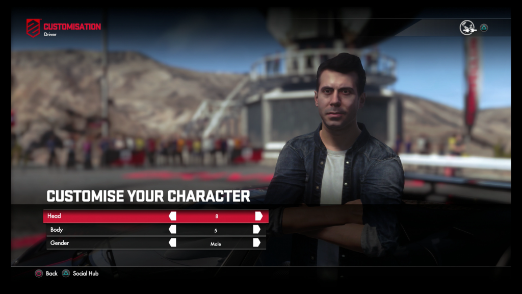 Driveclub Character Screen CK