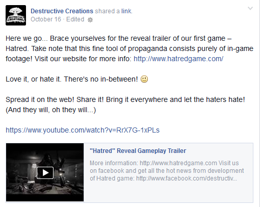 Destructive Creations Announcement