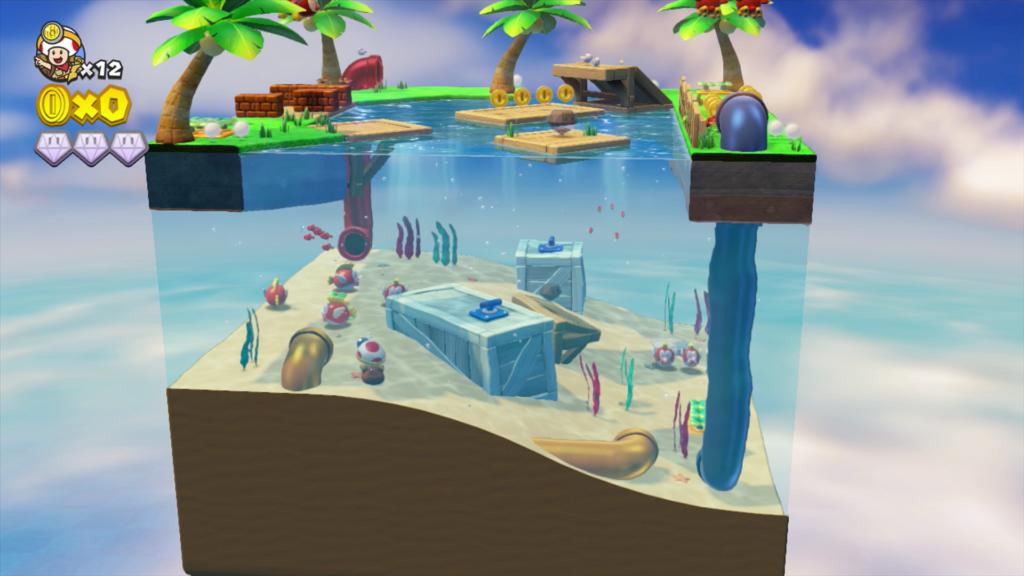Captain Toad: Treasure Tracker Cerealkillerz Screen 2