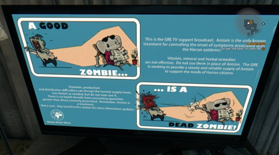 Dying Light Zombie Screen PC CK