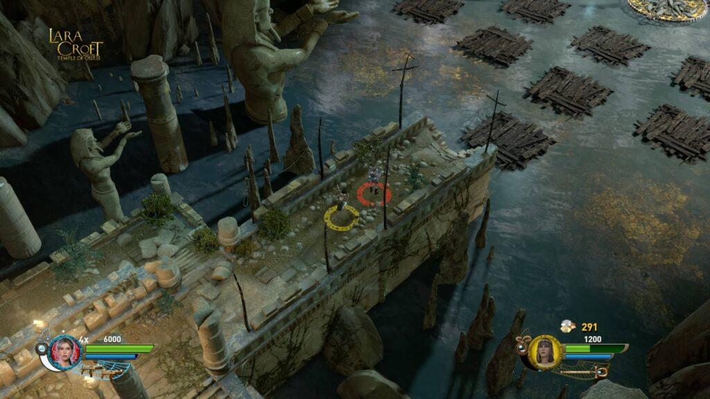 Lara Croft and the temple of Osiris Screen PS4 CK