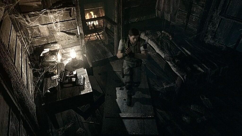 Resident Evil HD Screen