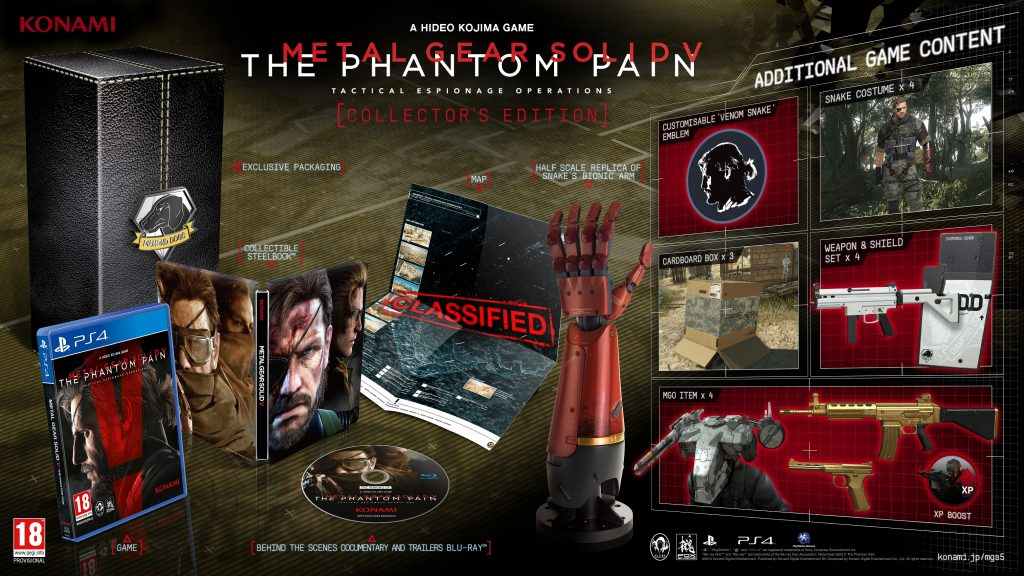 Phantom Pain Collector's Edition