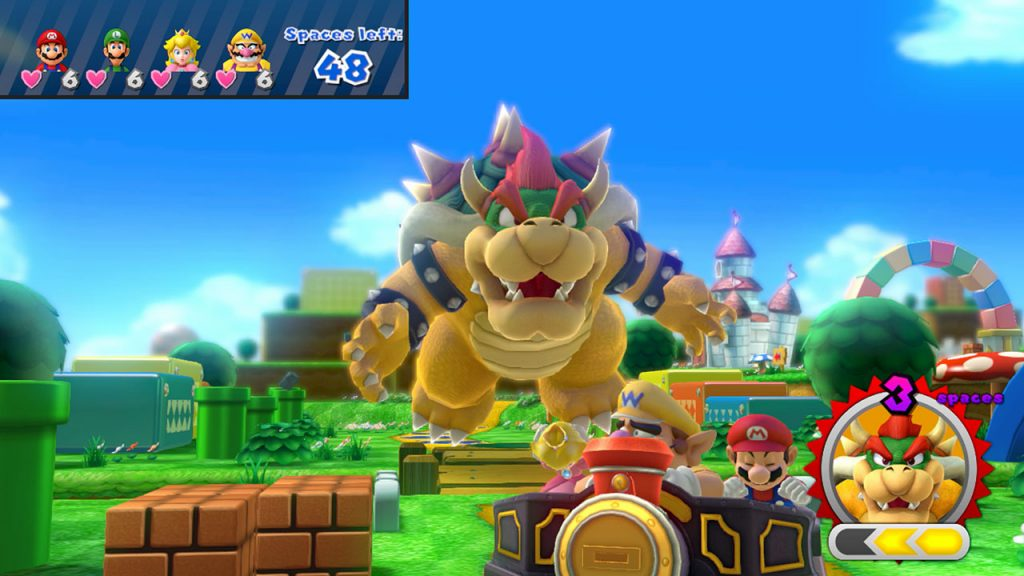 Bowser Party Wii U Screen