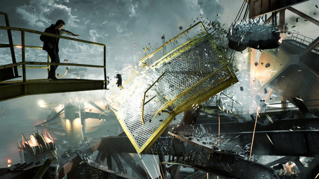 Quantum Break Screen Xbox One