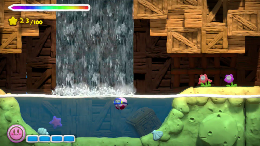 Kirby und der Regenbogen-Pinsel Screen CK
