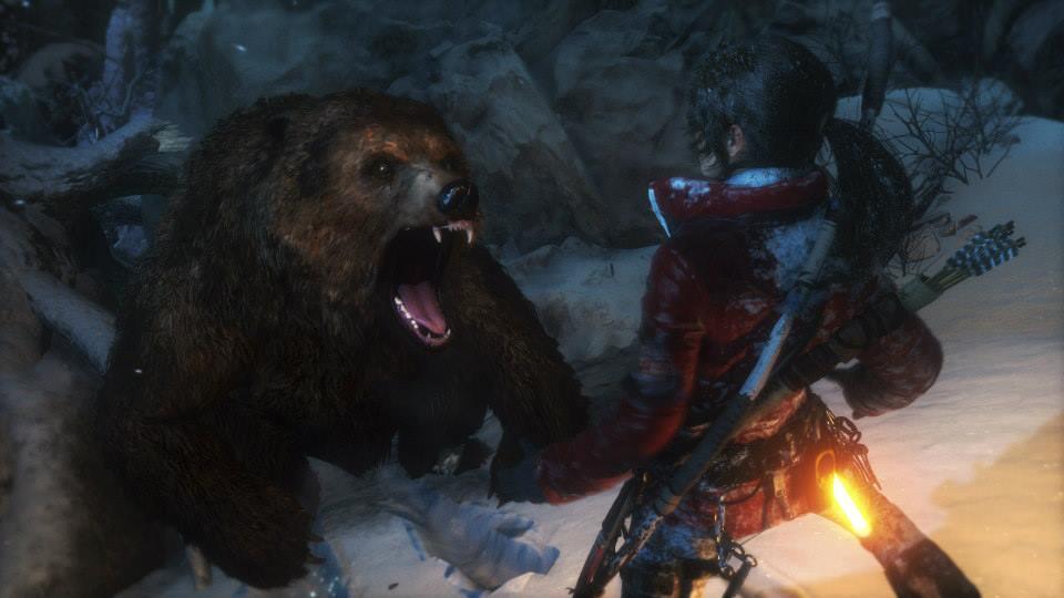 Rise of the Tomb Raider E3 Screen