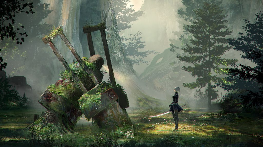 Nier New Project Concept Art