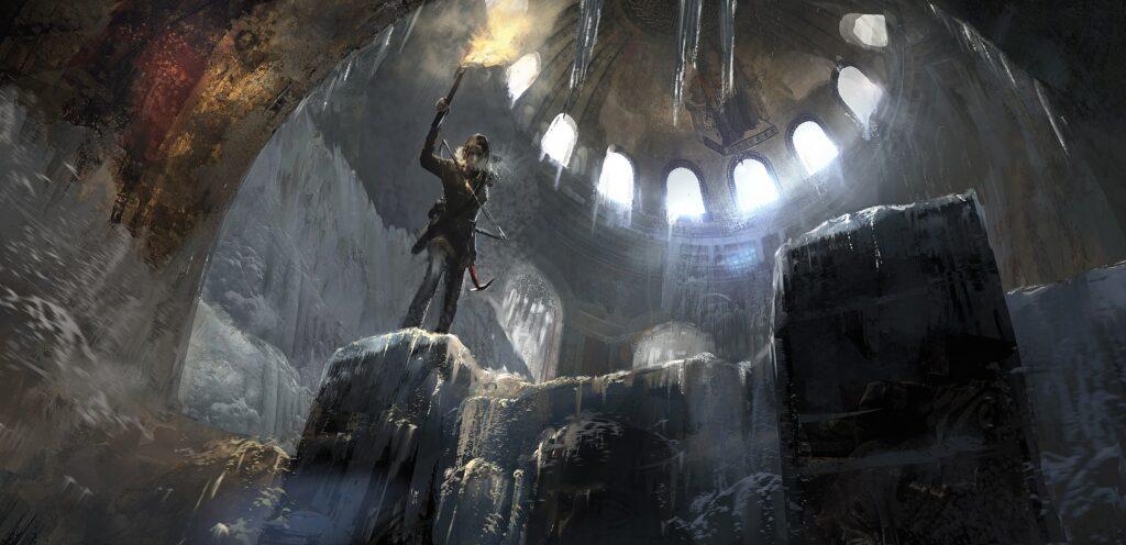 Kann Lara ihr Schicksal als kämpferische Grabräuberin selbst in die Hand nehmen? © Square Enix