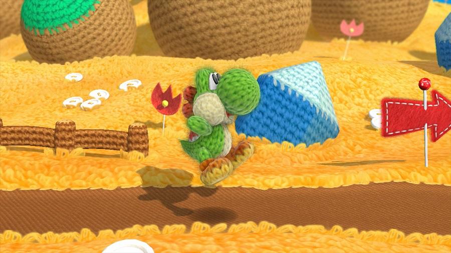 Der knuddlige Wollsaurier ist der wohl bisher niedlichste Held von Nintendo. ©Nintendo