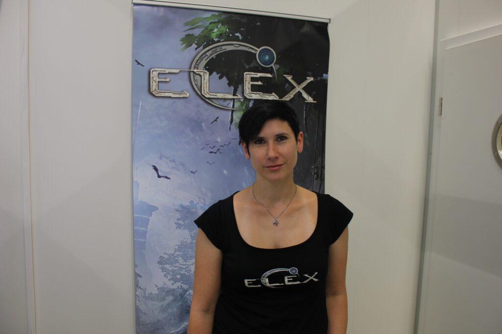 Jennifer Pankratz (Storywriter/Game Designer bei Piranha Bytes)