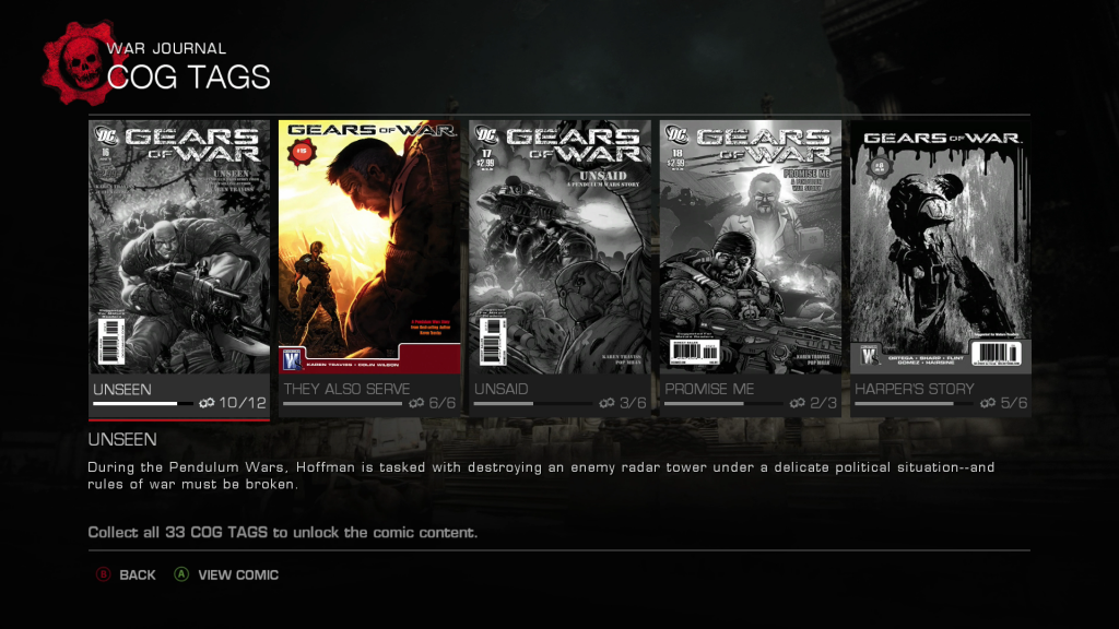Gears Ultimate CK Screen