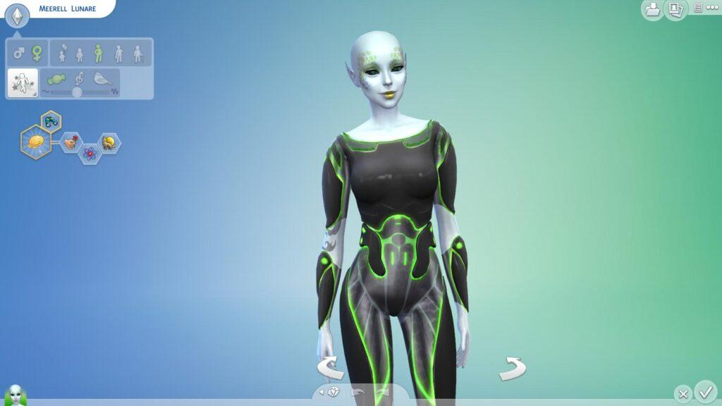 Ab dem ersten Erweiterungspack Die Sims 4: An die Arbeit! sind Aliens keine Besonderheit mehr! ©Screenshot