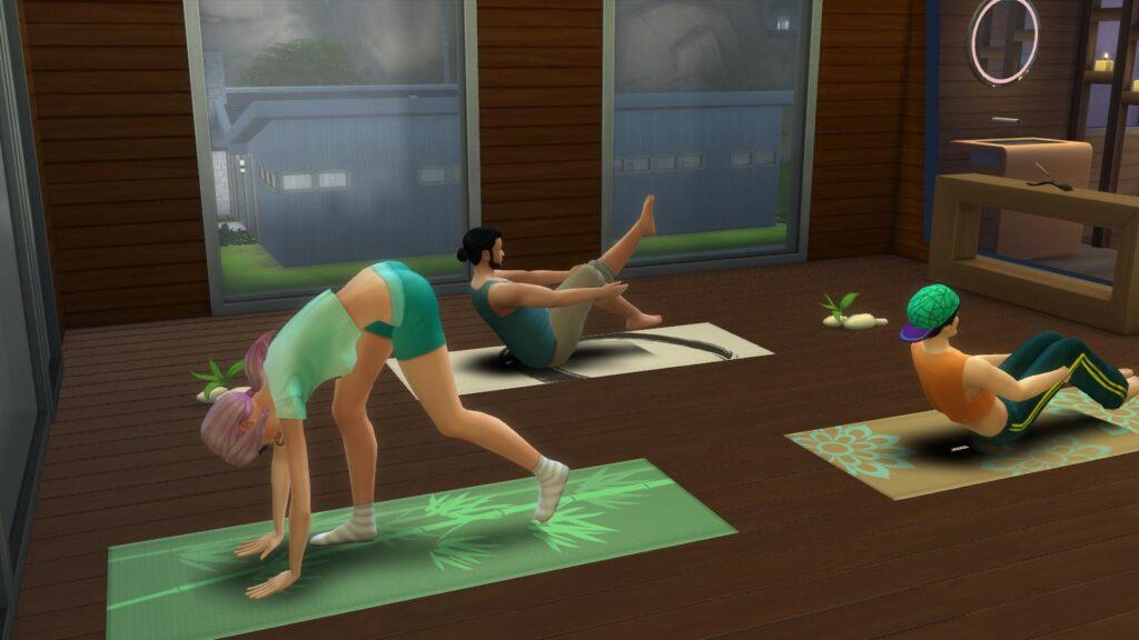 Eine Runde Gedankenkonzentrations-Yoga bitte! ©Screenshot