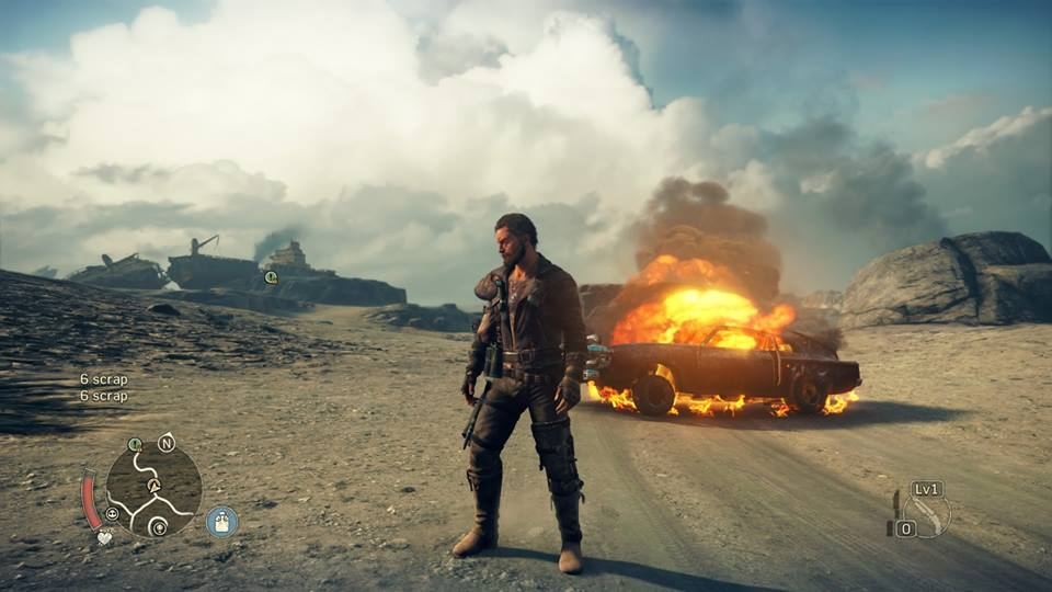 Mad Max Explosion CK Screen
