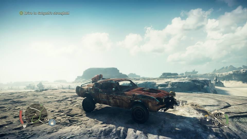 Mad Max Car CK Screen
