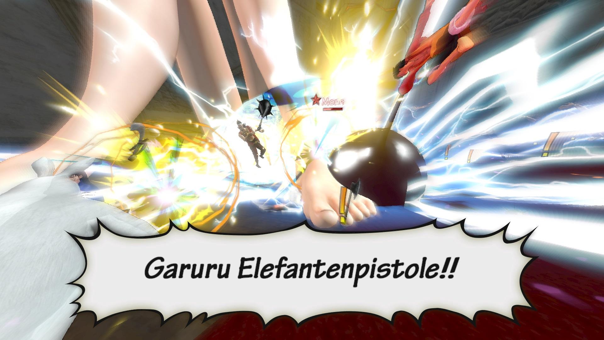 Beim Kizuna-Rush unterstützen dich deinme Nakama mit besten Kräftem und mit allem was sie haben. ©Screenshot