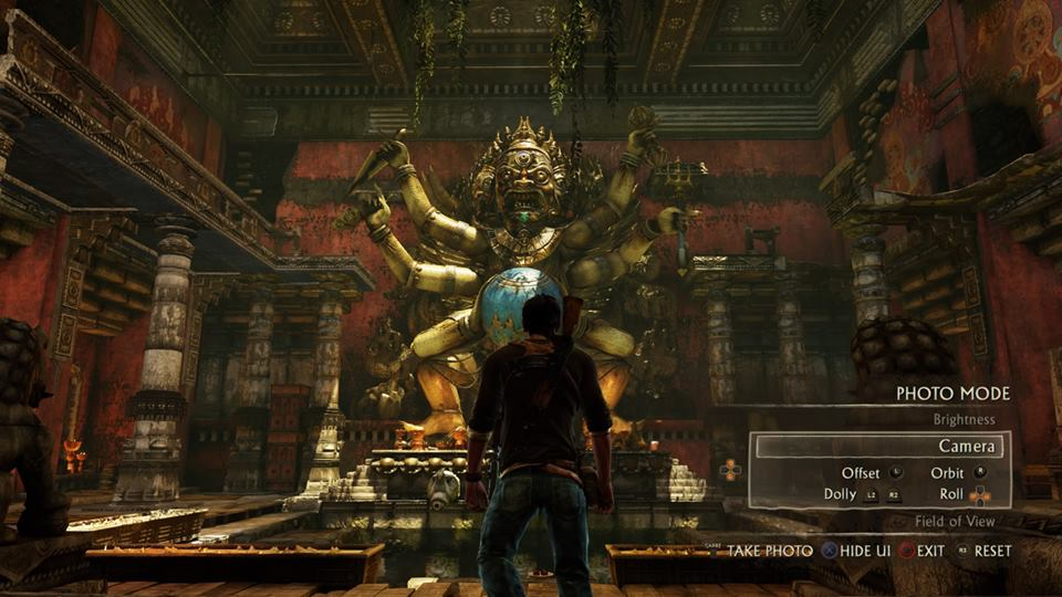 Uncharted 2 Photo CK Screen