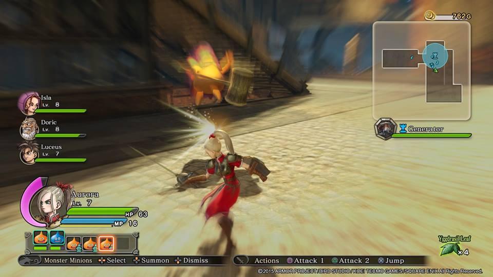 Dragon Quest CK Screen 1