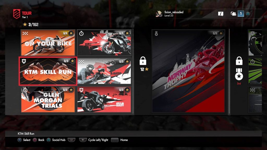 Cerealkillerz DriveClub Bikes Screen