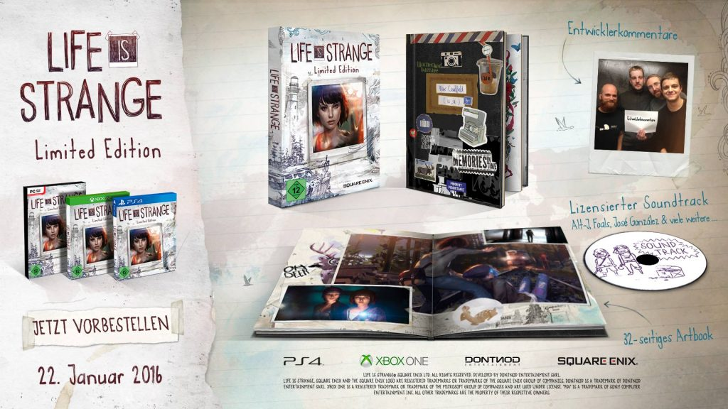 Life is Strange Limited Edition CK