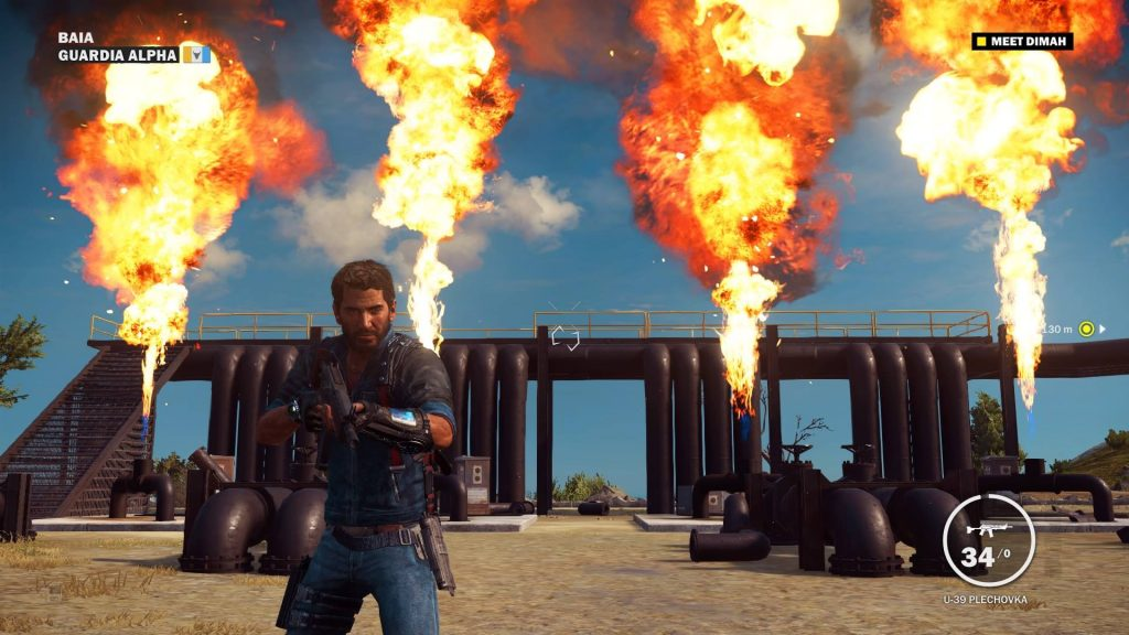 Just Cause 3 CK Screen