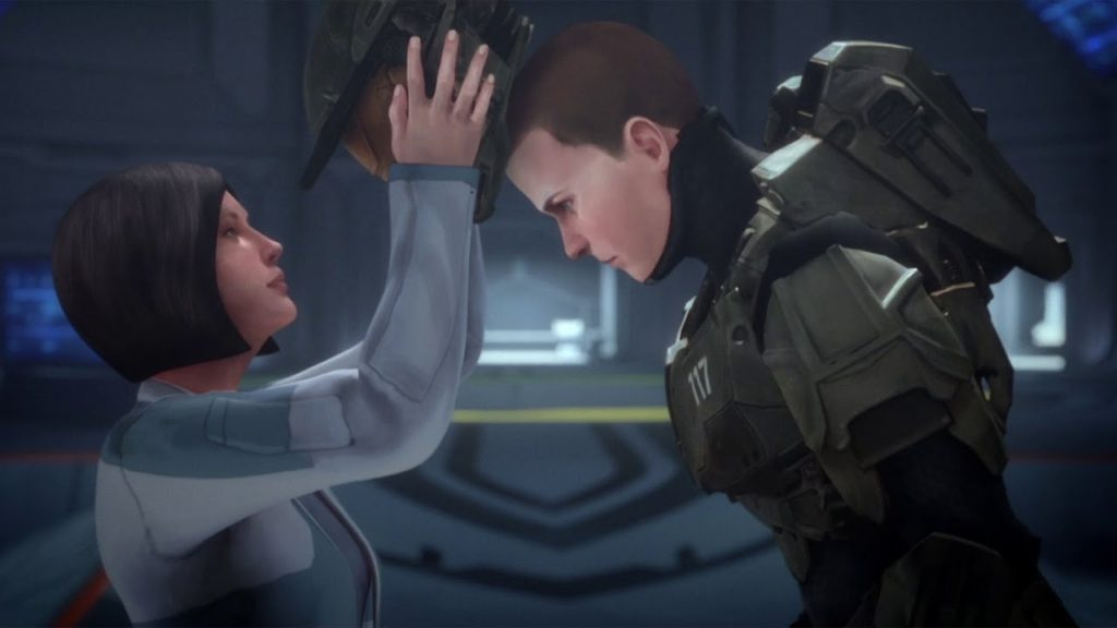 Halo Fall of Reach Screen