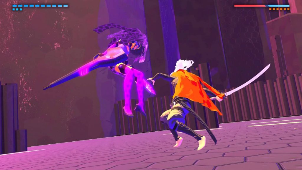 Furi Boss Screen