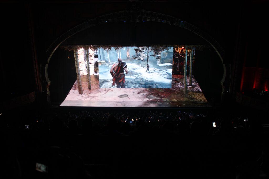 Sony God of War Screen