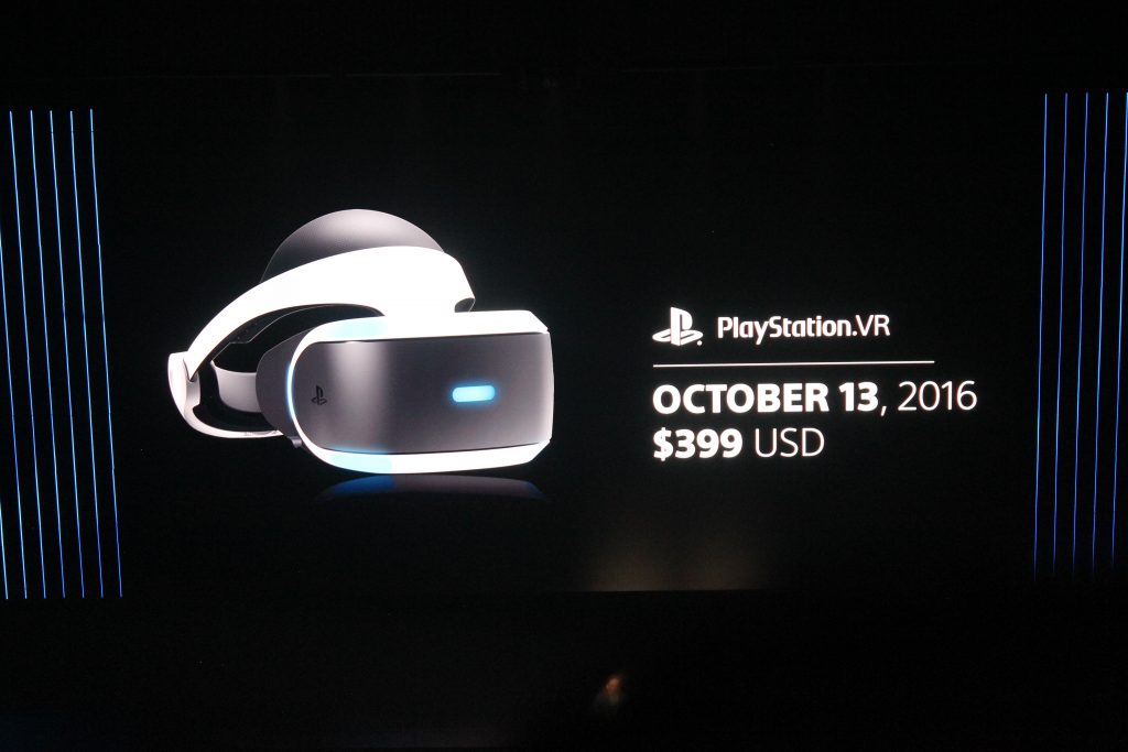 PS VR Sony Screen