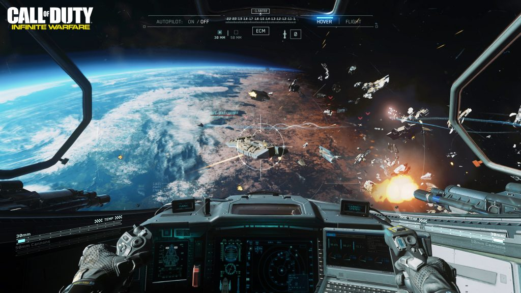 COD IW_E3_Ship Assault Space Combat_WM