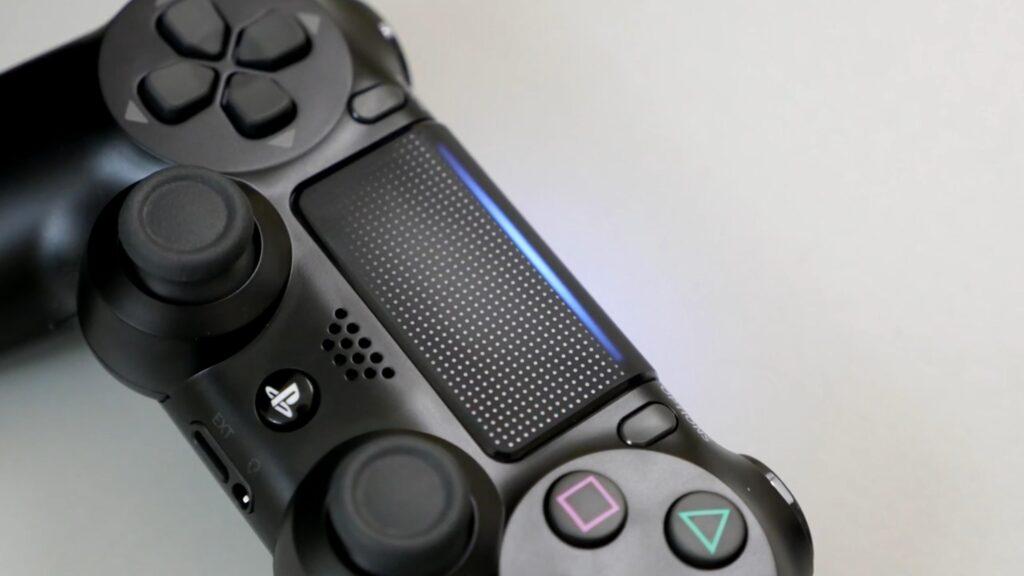 PS4 Slim Controller Light