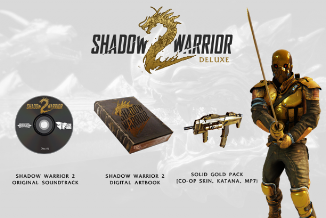 Deluxe Edition Shadow Warrior 2