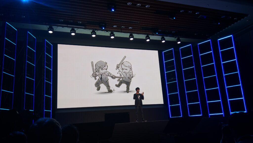 Tokyo Game Show Kojima