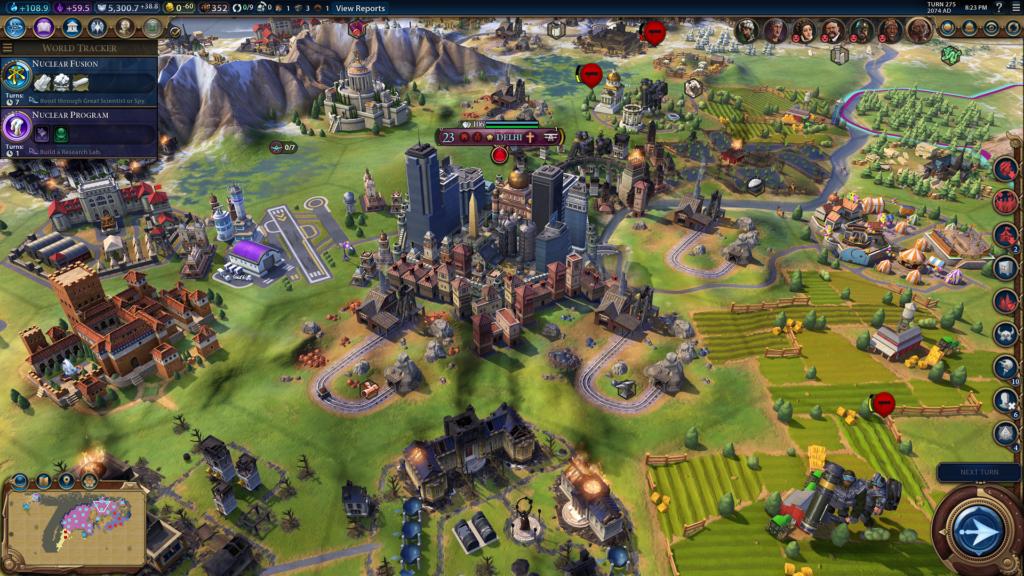HD Screenshot Civilization 6