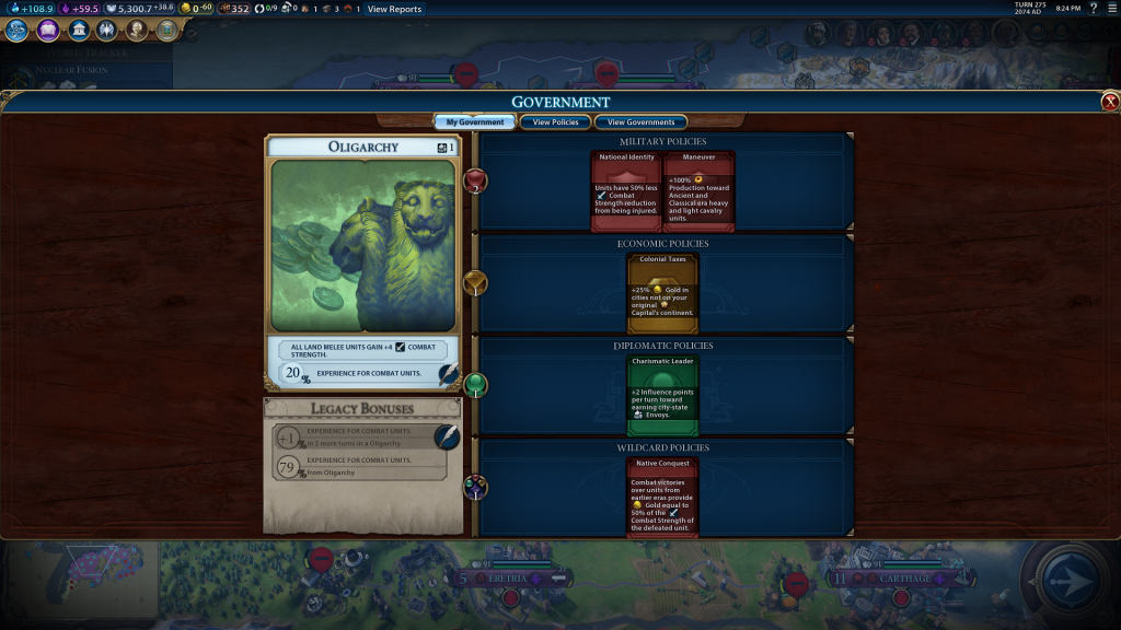 Screenshot Civilization 6 Cerealkillerz
