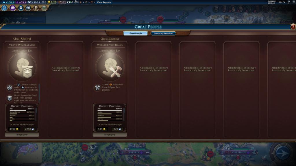 PC Screenshot Civilization 6