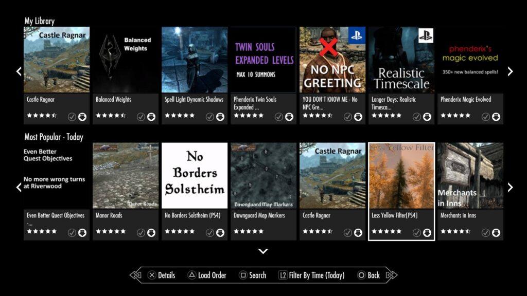 PS4 Mods