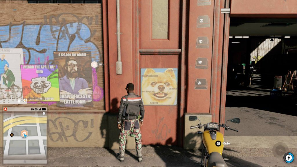 Watch Dogs 2 Playstation Pro Screen