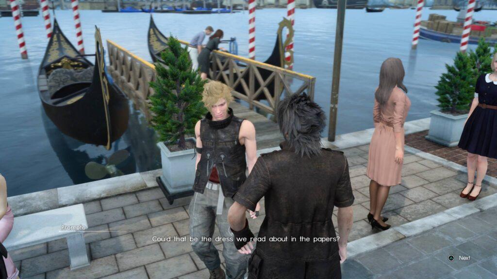Cerealkillerz Final Fantasy 15 Pro Screen