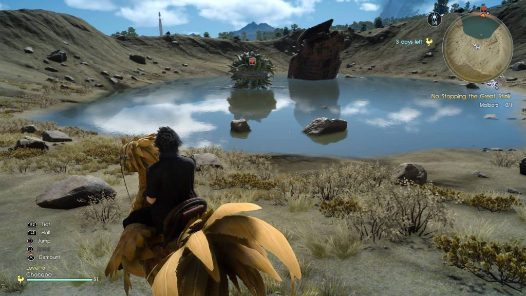PS4 Pro Morbol Screenshot