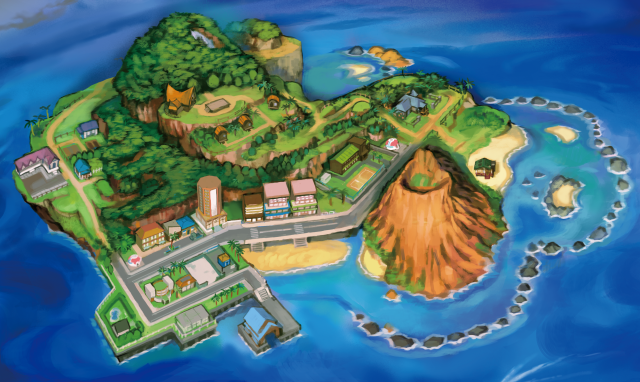 Pokemon 3DS Screenshot