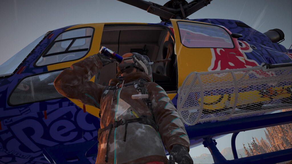 Red Bull Steep PS4 Screenshot