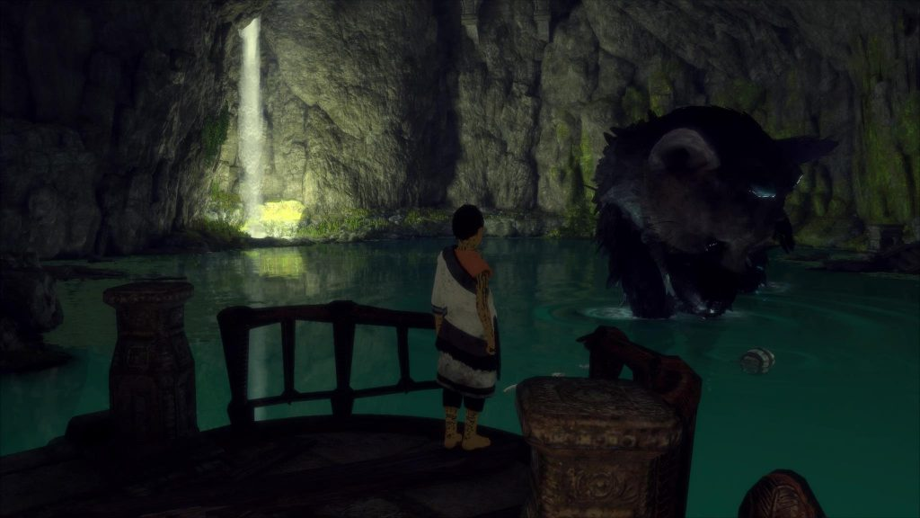 Screenshot PlayStation 4 Last Guardian